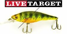 Koppers Live Target YP 158 M 106 Yellow Perch Florescent 6.25 Crankbait to 10
