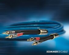 Sommercable Excelsior ® SC-QUADRA Blue Highend LS-CAVO Single-Wire - 2 x 3,0m