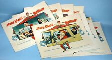 1960 Jerry Lewis The Bellboy 8 Movie Lobby Cards Complete Set Original Paramount