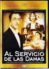 AL SERVICIO DE LAS DAMAS de Gregory La Cava (Clásicos de oro del cine V.O.S.)