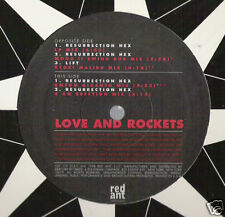 """LOVE AND ROCKETS - RESURRECTION HEX 12"""" MINT SEALED"""