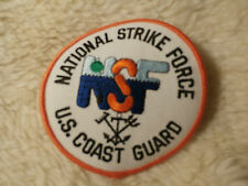 @ NATIONAL STRIKE FORCE US COAST GUARD UNITED STATES AMERICA - SEW ON PATCH (AA)