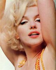 Marilyn Monroe 10X12 Pin-up Poster Sexy Bedroom eyes rare Image NOT A PHOTO! LMM