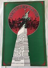 MINT BG 195 Randy Tuten Bill Graham Fillmore Poster 1969 Country Joe Albert King
