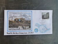 2017 HEARD ISLAND HISTORY STAMP ISSUE FDC FIRST DAY COVER