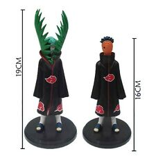 naruto Tobi Zetsu 2pcs pvc figures doll collection toy new first