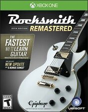 Rocksmith 2014 Edition Remastered for Xbox One w/ Real Tone Cable Included