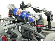 1/10 RC Car Scale Nos Nitrous Oxide Bottle Crawler Accessory Black Pipe BLUE