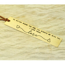 Personalized Bookmark State Map Boorkmark Stamped Bookmark Gold Color Lover Gift
