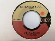 Etta James / Terry Callier – Seven Day Fool 45T Northern Soul 7'