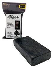 3 Pack T-Taio Esponjabon Carbon ActivadoConcha Nacar 2in1 soap sponge Charcoal