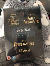Tim Burton Boxset Disney. Nightmare Before Christmas, Alice In Wonderland..