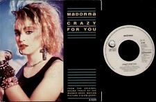 "MADONNA Crazy For You  7"" Ps, Dutch Issue, B/W I'Ll Fall In Love Again By Sammy"