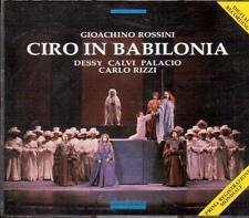 Rossini: Ciro In Babilonia / Rizzi, Palacio, Dessy, Antonucci, Savona 10.1988 CD