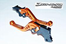 DOMINAR 400 6 Position Adjustable Brake Clutch SHORT Levers ORANGE