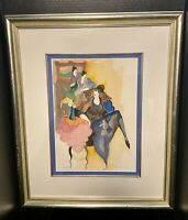 Itzchak Tarkay Hand Signed and Numbered Serigraph AP 48/50
