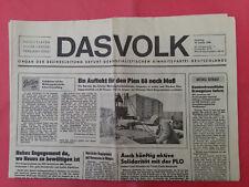 19.1.1988 Das VOLK * Regio Teil EISENACH * SED Zeitung DDR