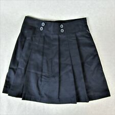Girls School Uniform Scooter Skirt Size 14 Navy Blue Skort Pleated Catholic NEW