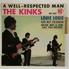 THE KINKS - A WELL RESPECTED MAN +3 - 45T x 2 (EP) 7inch (EP) x 2