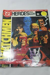 DC Heroes Role Playing Module 227 Who Watches the Watchmen?