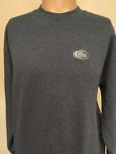NWT Men/'s Lee Cotton Blend Crew Neck Sweatshirt Size 3XL Navy #788Z