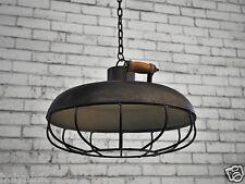 Industrial Hanging Pendant Shade Caged Retro Vintage Lighting Cafe Lamp Light