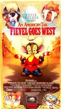 AN AMERICAN TAIL FIEVEL GOES WEST - Video (Animated)