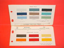 1965 DODGE PICKUP TRUCK SWEPTLINE POWER WAGON  CREW CAB PANEL VAN PAINT CHIPS 65