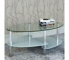 Vidaxl Coffee Table With Exclusive Design White Living Glass Room Stand Bedroom