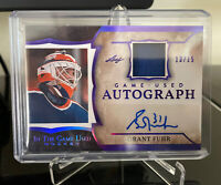 2020-21 Leaf In The Game Used Grant Fuhr Autograph Auto #13/15 Oilers R32