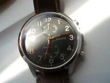 Fossil men's chronograph,quartz,battery & water resistant Analog watch.Fs-4873