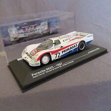 385E IXO 1:43 Porsche 962C # 72 LM 1987