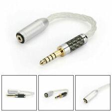 Silb 4.4mm Männlich Stecker 2.5 Ausgewogene Weiblich Audio Kabel HIFI Adapter S9
