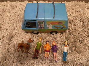 Scooby Doo Rumble And Race Mystery Machine Van2005 Vintage And Figures