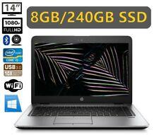 HP ProBook 840 G3 8GB/240GB SSD  i5-6200U 14 Zoll Full HD KAM