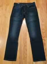 Levi's 511 Slim Fit Mens Dark Blue Jeans Size 33 x 32              SS
