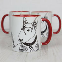 English Bull Terrier Gifts: English Bull Terrier Mug Featuring Our Original Art