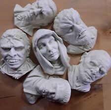 Classic Horror Movie Monsters Unpainted Resin Castings Frankenstein Mix & Match
