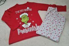 Christmas Grinch Girl's Pyjamas Size 12-13 Year's
