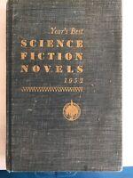 1952 SCI-FI YEAR'S BEST SCIENCE FICTION NOVELS Clarke Robinson Anderson Russel