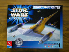 STAR WARS 1/48 NABOO STARFIGHTER, AMT ERTL Die cast model kit