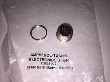 T 3638 000  AMPHENOL Conn Circular F 12 POS Solder ST Panel Mount 12 Terminal 1