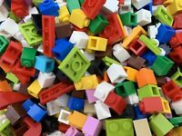 Lego 3005 - Used Mixed Colours Of 1x1 1x2 Plates, Bricks - 100 Pieces Per Order