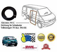 VW T4 Volkswagen Transporter T4 Bus 1990-2003 Dichtung für Schiebetür 7D0843791C