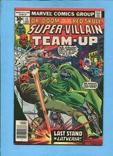 Super-Villain Team-Up #11 Red Skull Dr Doom Marvel Comics April 1977 VF 8.0