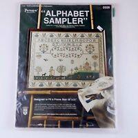 Paragon Needlecraft Alphabet Sampler Stamped Embroidery Kit 0556 Vintage