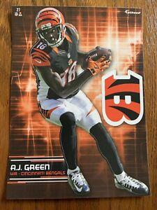 A.J. AJ GREEN 2017 Cincinnati Bengals uni w/ Logo Fathead Mini Card #27 L@@K