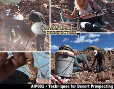 24K Techniques for DESERT GOLD PROSPECTING DVD