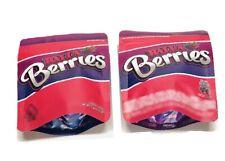 25ct Balla Berries Bags 4in x 5in empty cookies bags snacks packaging