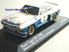 Minichamps - Ford Capri RS 3100 - Stommelen - 1st Nurburgring DRM 1974 -1/43 NEW